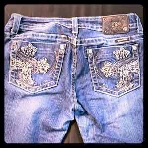 Miss me cuffed Capri jeans size 31